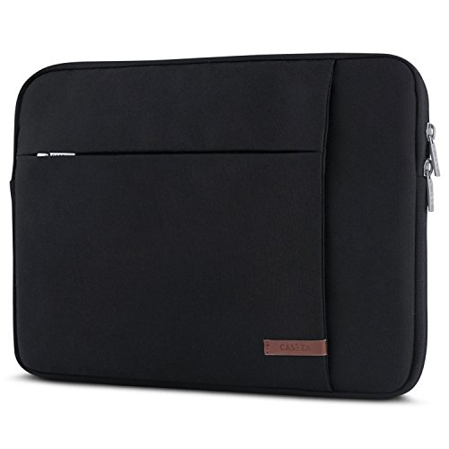 (Laptop Sleeve 15-15.6 Inch Black - CASEZA London Notebook Bag for 15