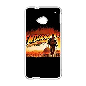 HTC One M7 Cell Phone Case White Indianna Jones BNY_6765230