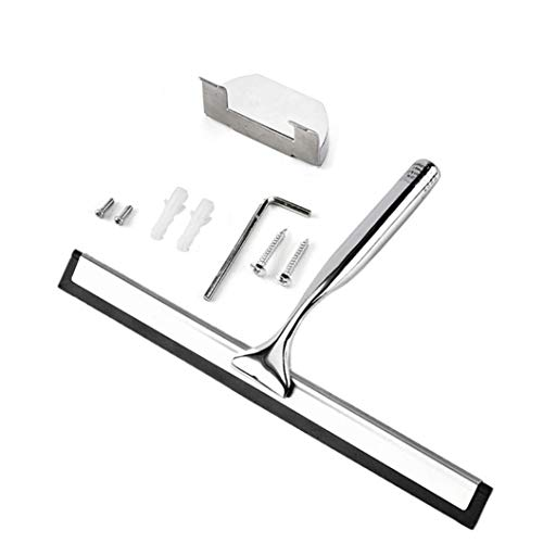 Window Glass Stainless Steel Wiper Cleaner Squeegee Shower Bathroom Mirror Brush by NewKelly