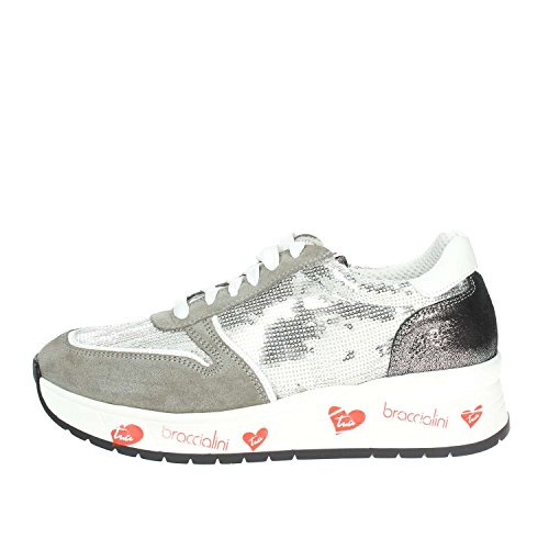 Braccialini IT 4 Low Sneakers Women Grey