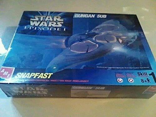 - AMT ERTL Star Wars Episode I Gungan Sub Snapfast Model Kit 30119