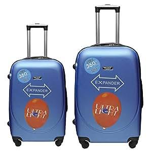 Passenger PC Trolley 2 Piece Set, Blue - 8009