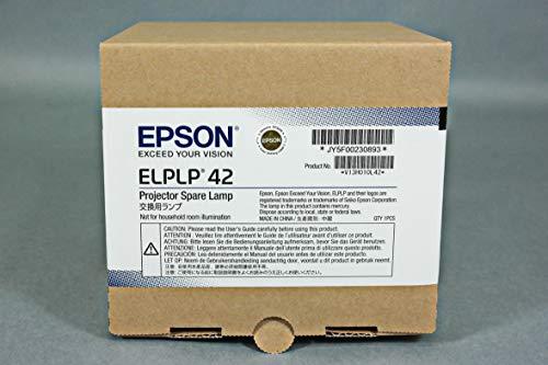 - Epson Elplp42 - Projector Lamp - E-Torl Uhe - 170 Watt - 3000 Hour(S) (Standard Mode) / 4000 Hour(S) (Economic Mode) - For Eb 410, Emp 280, 400, 822, 83, Powerlite 400, 410, 822, 83