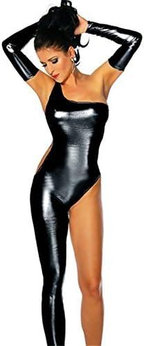 Amazon.com: XSQR - Traje sexy de látex para mujer, de piel ...