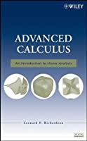 Advanced Calculus: An Introduction to Linear Analysis Front Cover