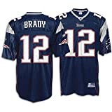 Tom Brady Patriots Reebok Men's NFL Authentic Team Color Jersey