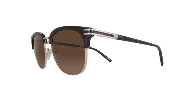 7d65b00cf220 Image Unavailable. Image not available for. Colour  MONT BLANC Men s MB701S- 52E-52 Sunglasses