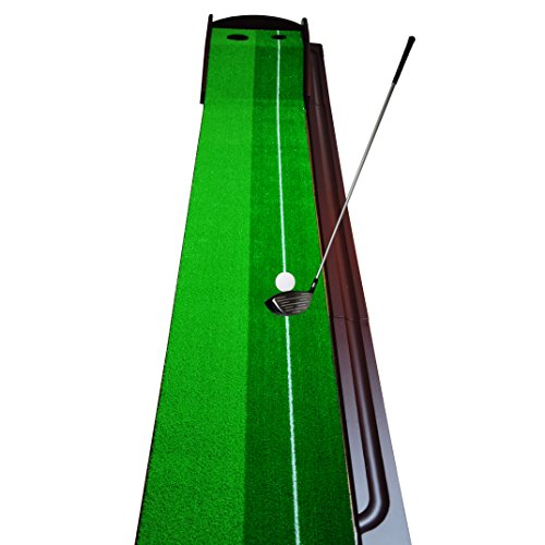 GOLF PUTTING MAT - PREMIUM WOODEN PUTTING GREEN - MINI GOLF by Everyday golf aids (Image #5)