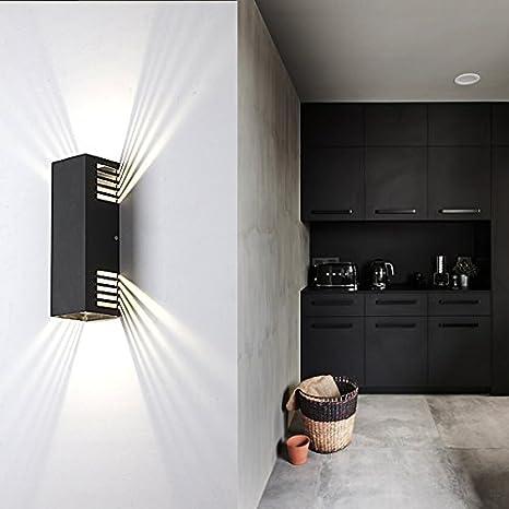 Salotti E Soggiorni Moderni.Lanfu Lampada Da Parete 10w Bianco Caldo Elegante E Moderno Design