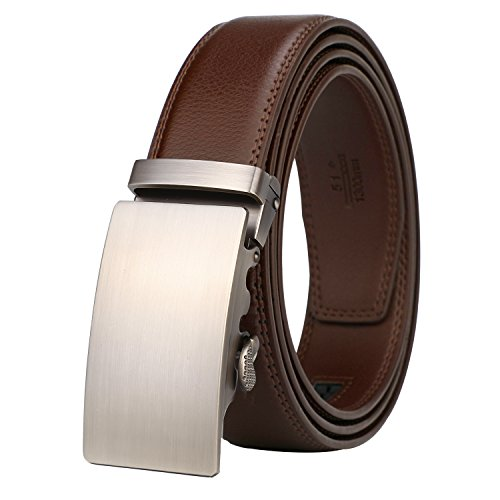 Dante Leather Ratchet Automatic Buckle