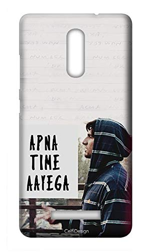 Mobile Back Cover-Apna Time Aayega Paper for Gionee S6s