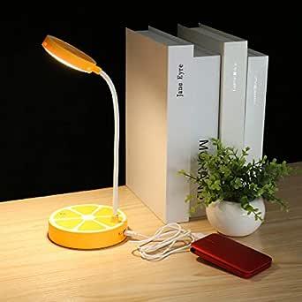 Creativo Lámparas De Mesa Led Dormitorio Infantil Lámpara De ...