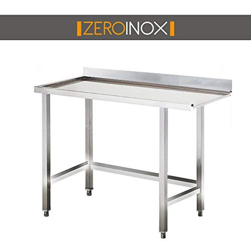 ZeroInox Mesa Salida con - tartera - Profundidad 75 - Todas ...