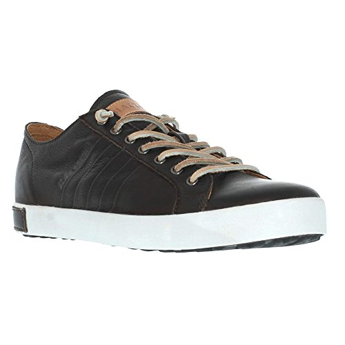 Blackstone Mens JM11 Leather Sneaker Pinecone