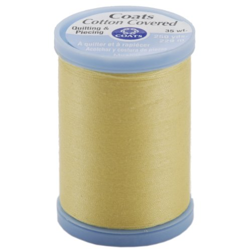 Coats & Clark Cotton Covered Quilting & Piecing Spool of Thread 250 Yds: Yellow
