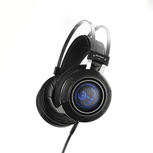 XHKCYOEJ Headset Stereo Headset/Headphones/Headphones/Internet Cafes/Games/Bass/Computers/Sports/Telescopic/Headset,Black: Amazon.co.uk: Electronics