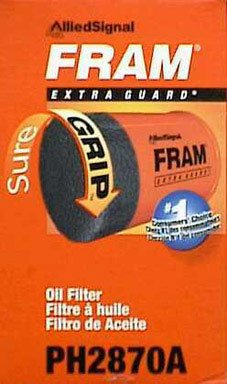 Fram Oil Filter Mfg No. Ph2870a