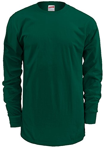 Men's Long-Sleeve Cotton T-Shirt
