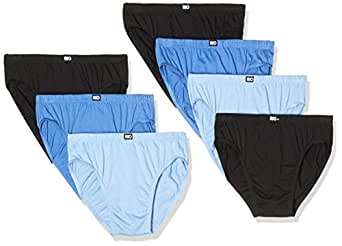 Rio Men's Cotton Bikini Brief, Blue, 75+