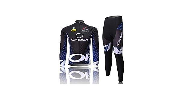 Camiseta de Ciclismo para Hombre, Manga Larga, Bicicleta de montaña, Bicicleta de Carretera, Medias, Bici (Color: 2, Talla: S): Amazon.es: Deportes y aire libre