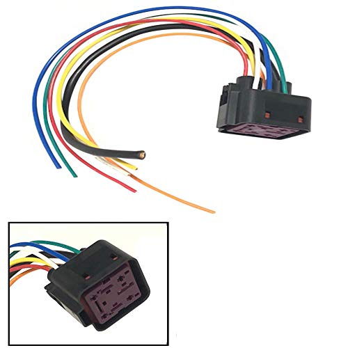 6.0 6.4 7.3 Powerstroke Diesel Glow Plug Control Module GPCM Pigtail Connector