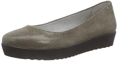 Vagabond Edie - Bailarinas Mujer Gris - Grau (19 Fossil)