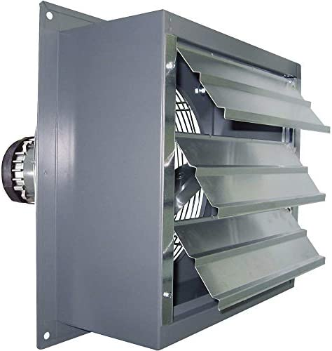 Canarm Explosion-Proof Totally Enclosed Exhaust Fan – 18in. 1 3 HP, 3200 CFM, Model Number SD18-XPF