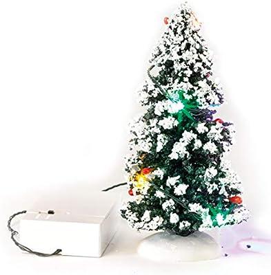 Led Tannenbaum.Vbs Led Tannenbaum Deko Miniatur Winter Landschaft Weihnachten Wechsellicht