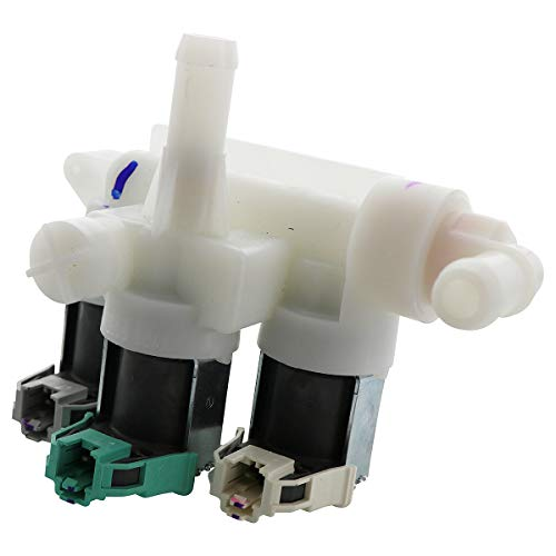 Kitchen Basics 101: W10247306 Washer Water Inlet Valve Replacement for Whirlpool Maytag Kenmore ()