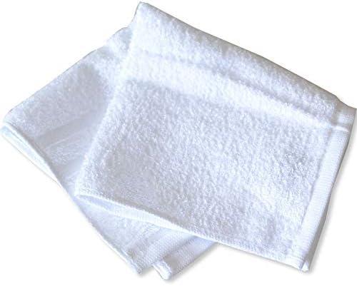 抗ウイルス加工 日本製 ハンドタオル ホワイト 29×29cm