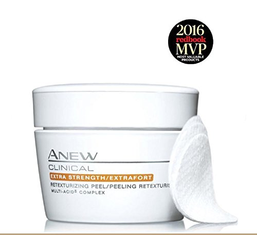 Avon ANEW CLINICAL Extra Strength/Extrafort Retexturizing Peel 30 Pads