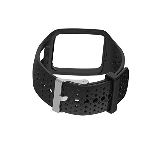 Multi Sport / Cardio GPS Watch Strap, Replacement Soft Silicone Band Bracelet Sport Strap WristBand Accessory Strap for TomTom Running Watch