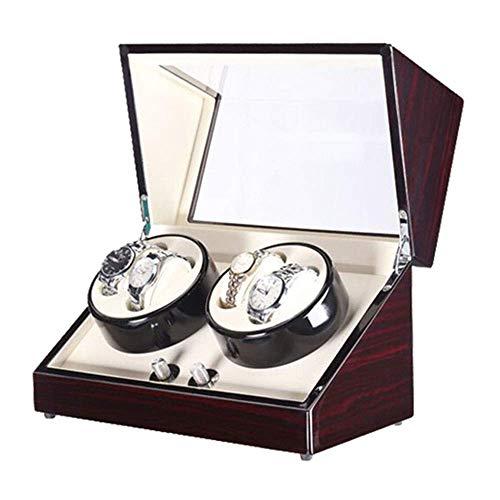 (SuRose Automatic Watch Winder Box Automatic Watch Winder Box,Storage Display Box Case 4+0)