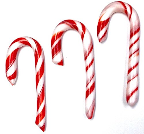 Sugar Free Peppermint Candy Canes, 5'' Inches, Set of 18 Canes By Diabeticfriendly by Diabetic Friendly
