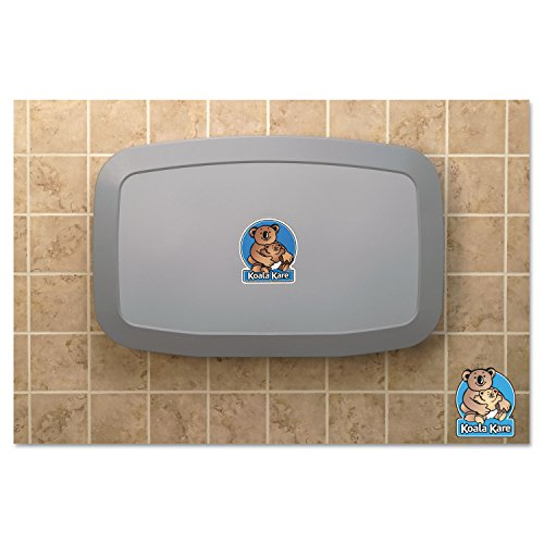 Koala Kare KB20001 Horizontal Baby Changing Station, Gray