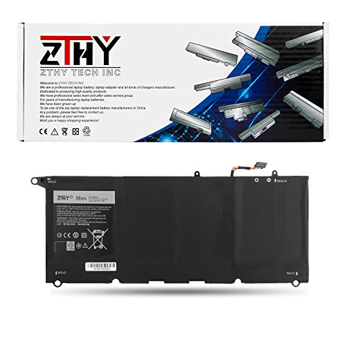 ZTHY 56WH 90V7W Laptop Battery Replacement for Dell XPS13 XPS 13 9350 Notebook JHXPY 5K9CP DIN02 0JHXPY 7.6V 7435mAh - 12 Months Warranty