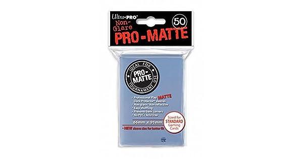 Amazon.com: 50 Ultra Pro – Pro-Matte transparente cubierta ...