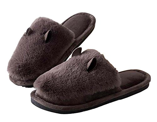 Pantoufles Confortables En Peluche Dhiver Pantoufles Dhiver Pantoufles Dintérieur