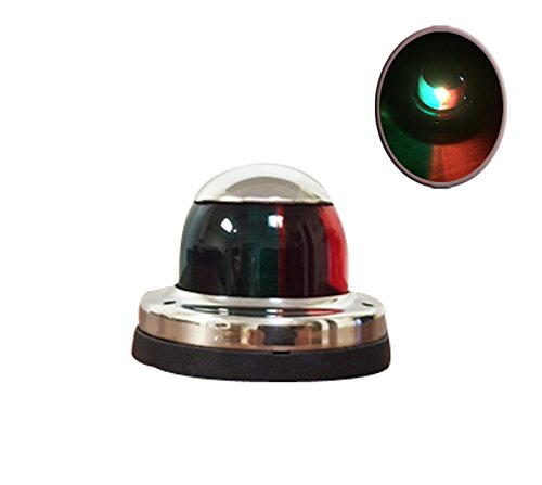 Pactrade Marine Stainless Steel LED Red Green Navigation Stern Bow Light by Pactrade Marine (Image #8)