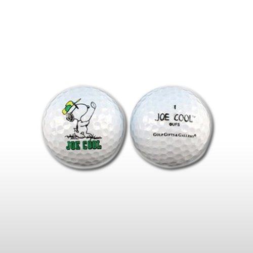 Snoopy Ball (Peanuts Joe Cool Snoopy 2 New Golf Balls)