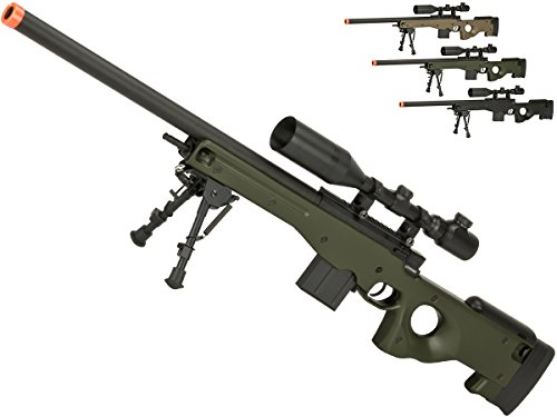 Evike - CYMA Advanced CM703 L96 Bolt Action High Power Airsoft Sniper Rifle (Color: OD Green) - (62783)