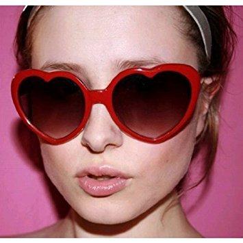 ciel de soleil très l'amour cœur demandé Bleu en de 2013 lunettes HuaYang rétro forme OvxRqAwqn