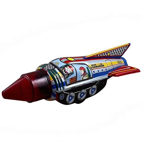 Christmas Gifts Space Commander Vintage Tin Toys Collectibles (Antique For Toys Sale)