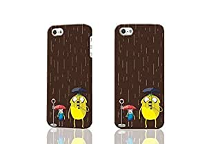 Finn And Jake Adventure Time 3D Rough Case Skin, fashion design image custom , durable hard 3D case cover for iPhone 5 5S , Case New Design By Codystore