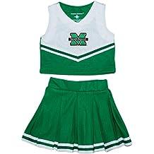 Creative Knitwear Marshall University NCAA College 2-Piece Cheerleader Dress