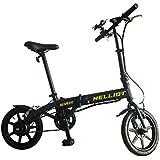 Helliot Bikes Siam Bicicleta eléctrica Plegable con batería de Litio, Unisex Adulto