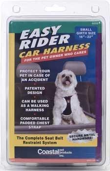 Easy Harness Dog Rider - Coastal Pet SM BLK Car Harness