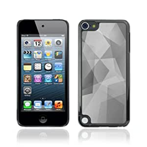 Designer Depo Hard Protection Case for Apple iPod Touch 5 / Cool Polygon B&W Pattern