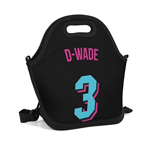 (Special Basketball Theme Lunch Box Fashionable Tote Container Stylish Cooler Thermos Gym Lunch Bag Personalized Slim Sports Perfect)