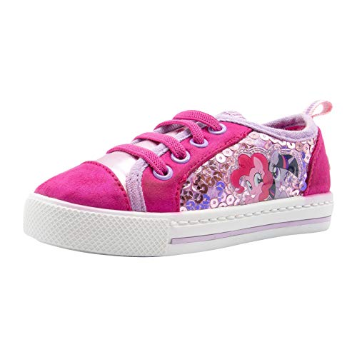 (My Little Pony Pink Girls Canvas Sneaker)